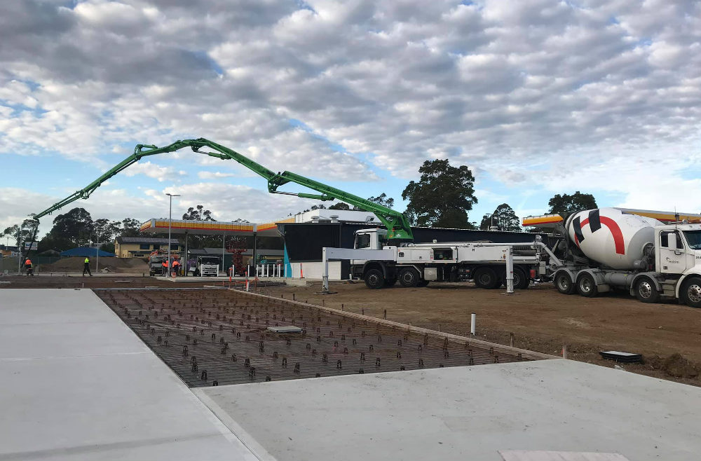 concrete pumping in Nowra