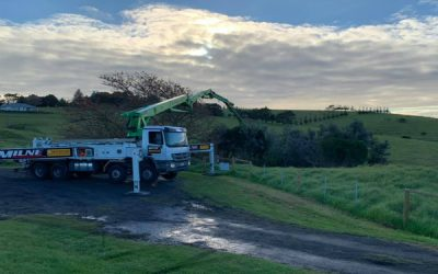 Our Concrete Pumping Contractors at Work