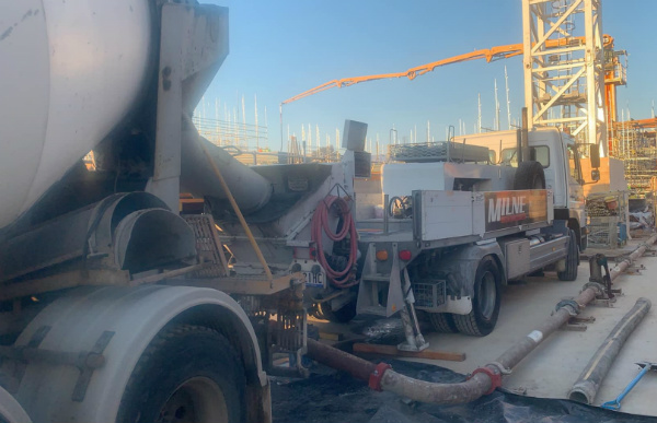 Pump On With Milne Concrete Pumping
