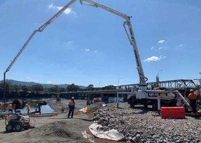 Milne-Concrete-Pumping-nowra bridge